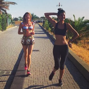 Anna Dello Russo Works Out in Dolce and Gabbana