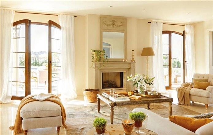 Blog by nela una casa con mucho estilo a house with style for Salones con chimenea