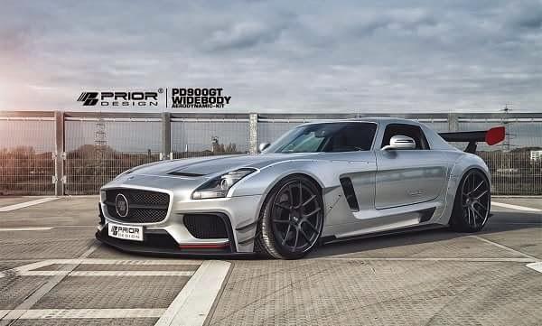 Mercedes Benz SLS AMG by Prior Design