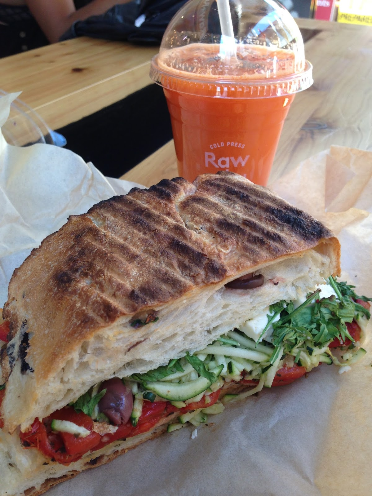 raw and real, juicery, juice, adelaide, food, james place, ciabatta, sandwich, fruit, vegetables, healthy, takeaway
