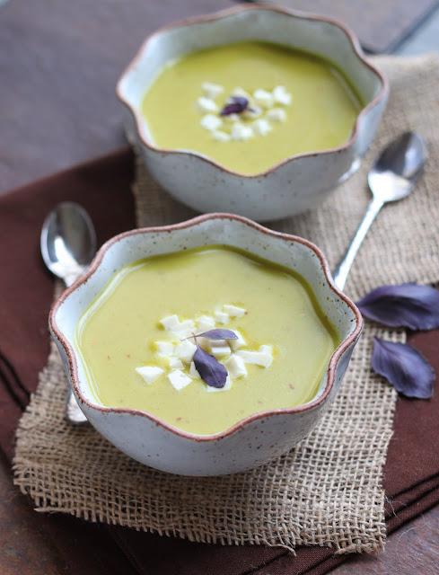 The Cilantropist: Curried Green Lentil Soup