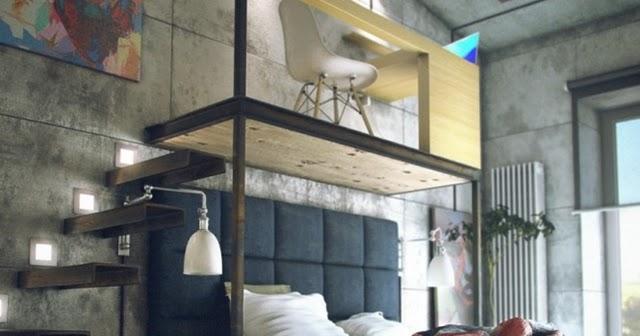 Architecture Corner Raw Loft Visualization By Maxim Zhukov