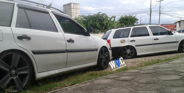 """Carro do Internauta: Parati com rodas aro 17"""" e Suspensão Fixa"""