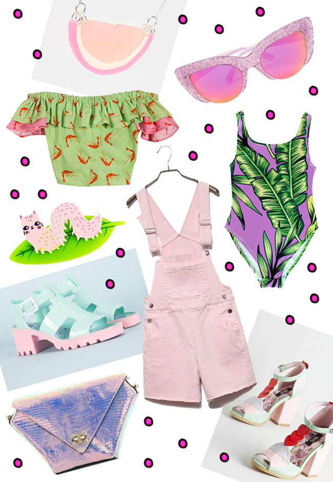summer wish list, kawaii pastels, 2015