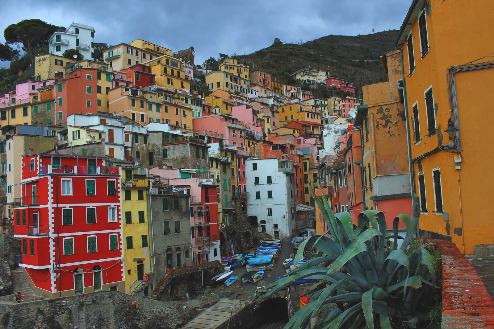 cinque terre italy travel in winter