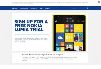 Nokia Gratiskan Lumia untuk Keperluan Uji Coba