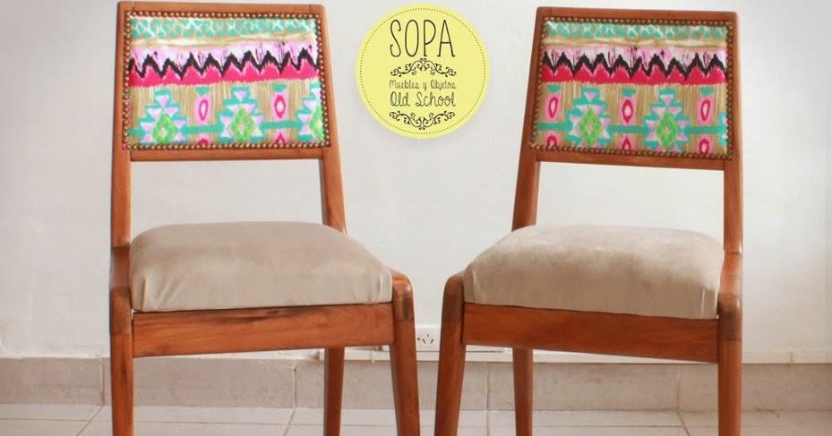 Sopa muebles y objetos old school sillas americanas olimpo for Muebles olimpo