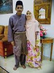 Bersama suami tercinta