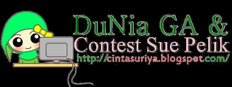 DuNia GA & Contest Sue Pelik