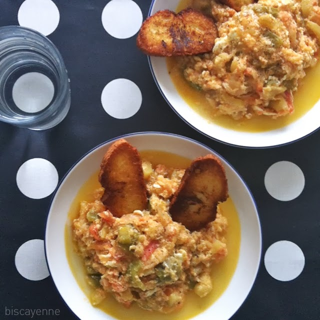 Biscayenne: Cocina antigua