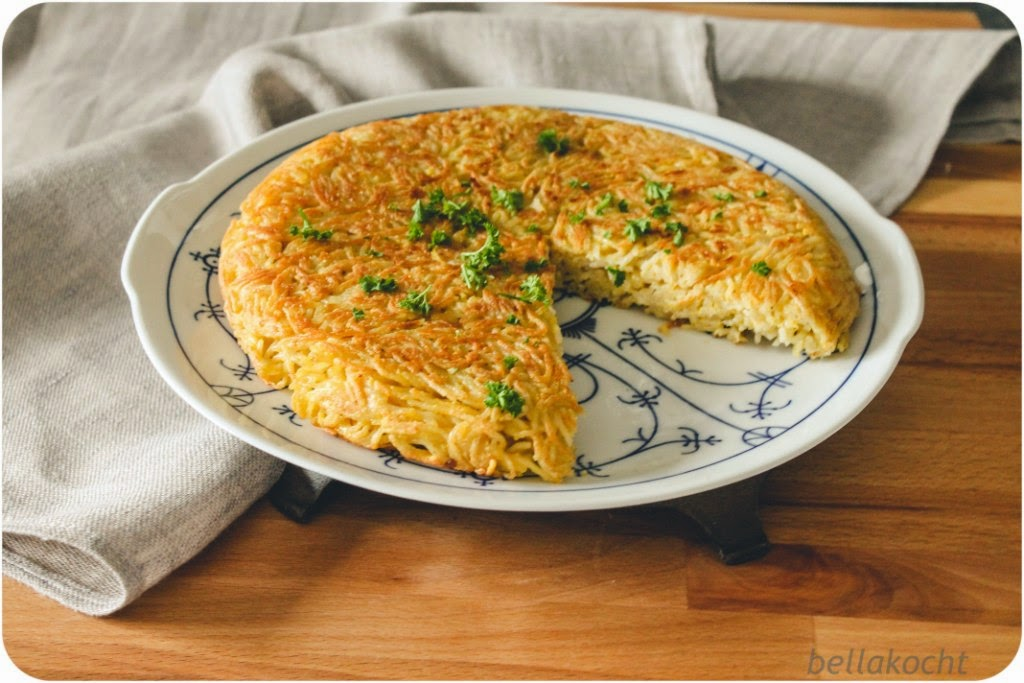 Spaghetti-Frittata reisehunger