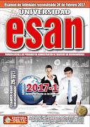 Examen ESAN 2017-I