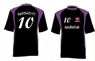 contoh desain seragam kostum sepak bola terbaru