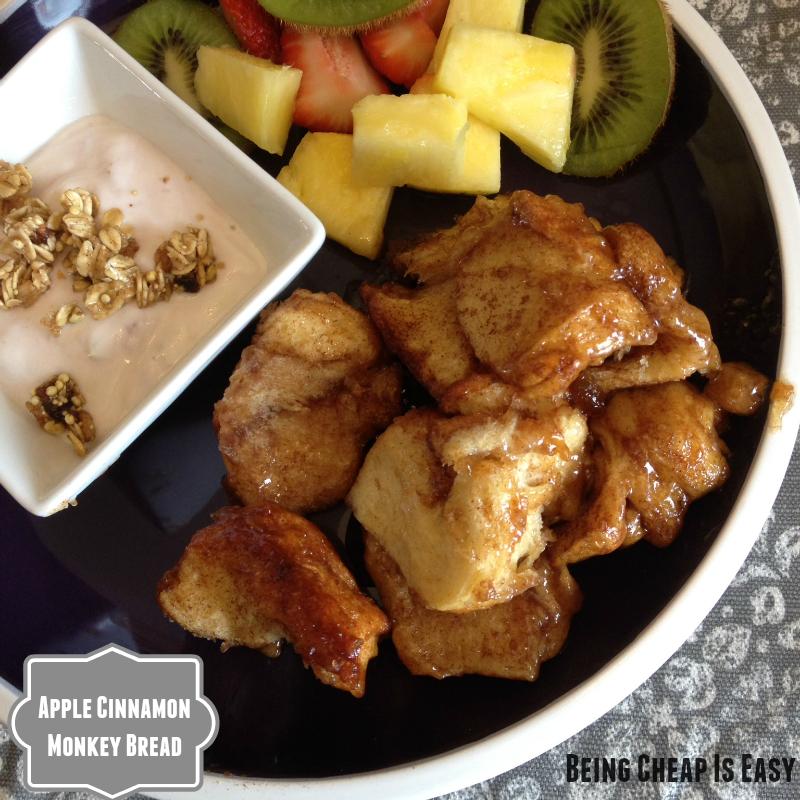 Monkey Bread, Apple Cinnamon breakfast, Pepperidge Farm sweet rolls, Collective Bias