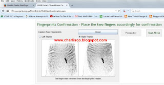 jamb direct entry recapture finger print