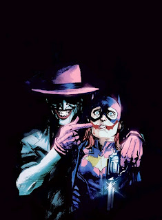 Joker variant cover of Batgirl #41 by Rafael Albuquerque