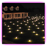 Christmas Lawn Lights Illuminated Outdoor Decoration