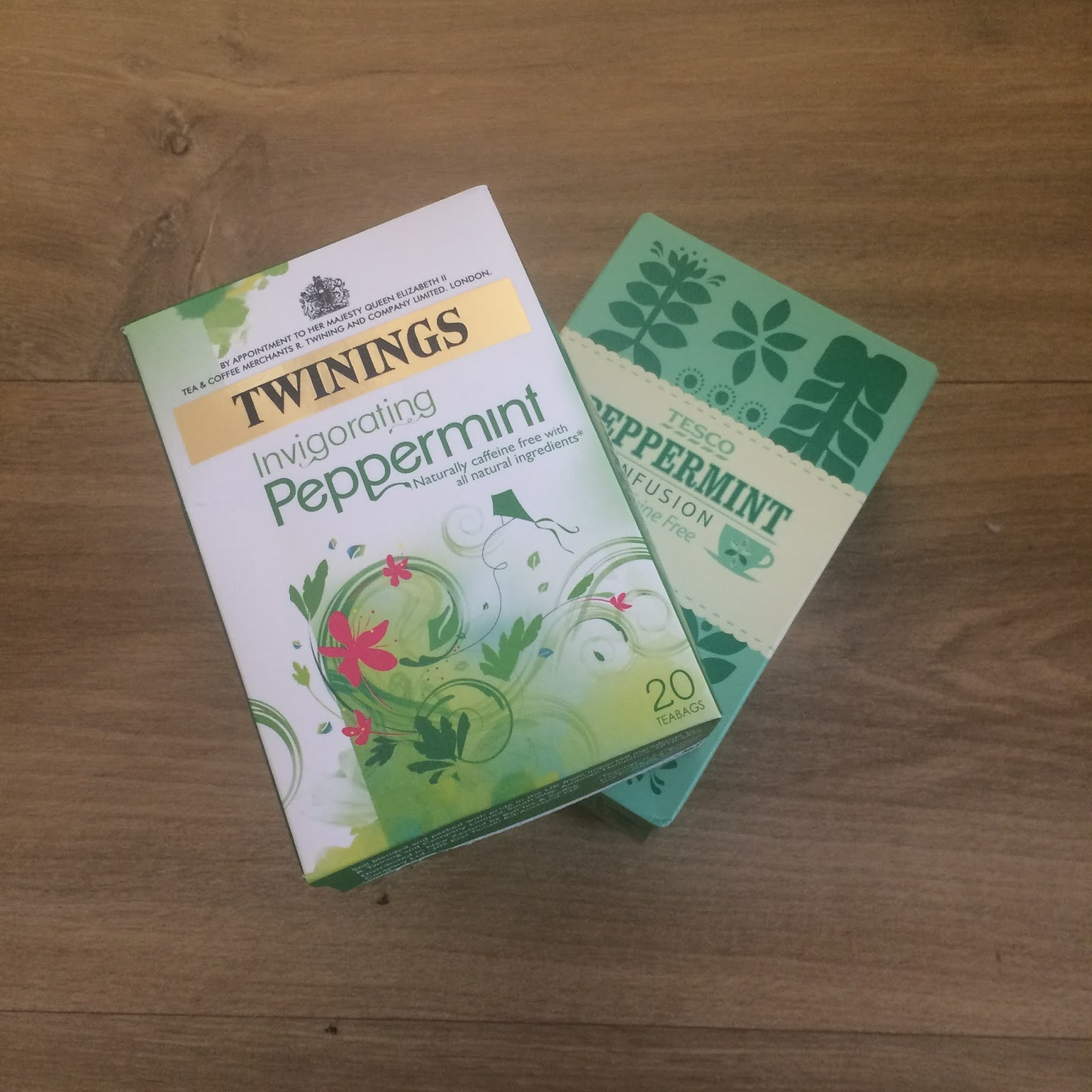 peppermint tea, twinings tescos lifestyle blogger