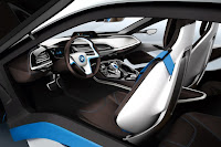 BMW i8 Concept Interior wallpaper 02