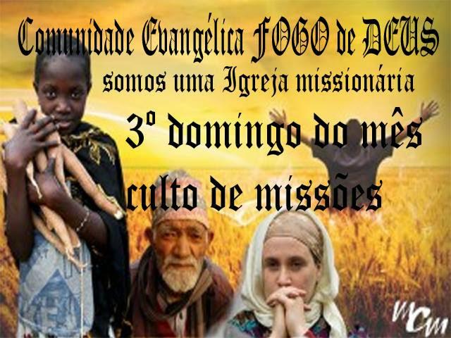 COMUNIDADE EVANGÉLICA FOGO de DEUS
