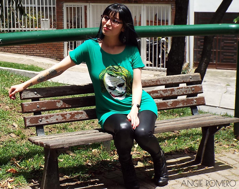 Crea diseña tu propia camiseta playera Joker