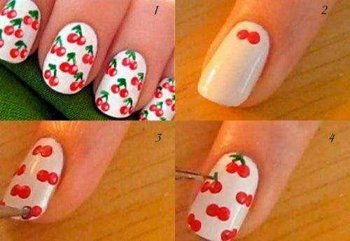 Nails Art Step By Step Tutorial #2.