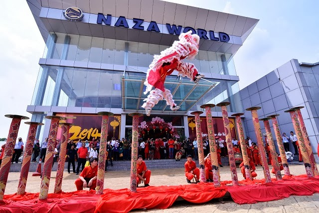 Naza World Chinese New Year 2014 Open House Celebration