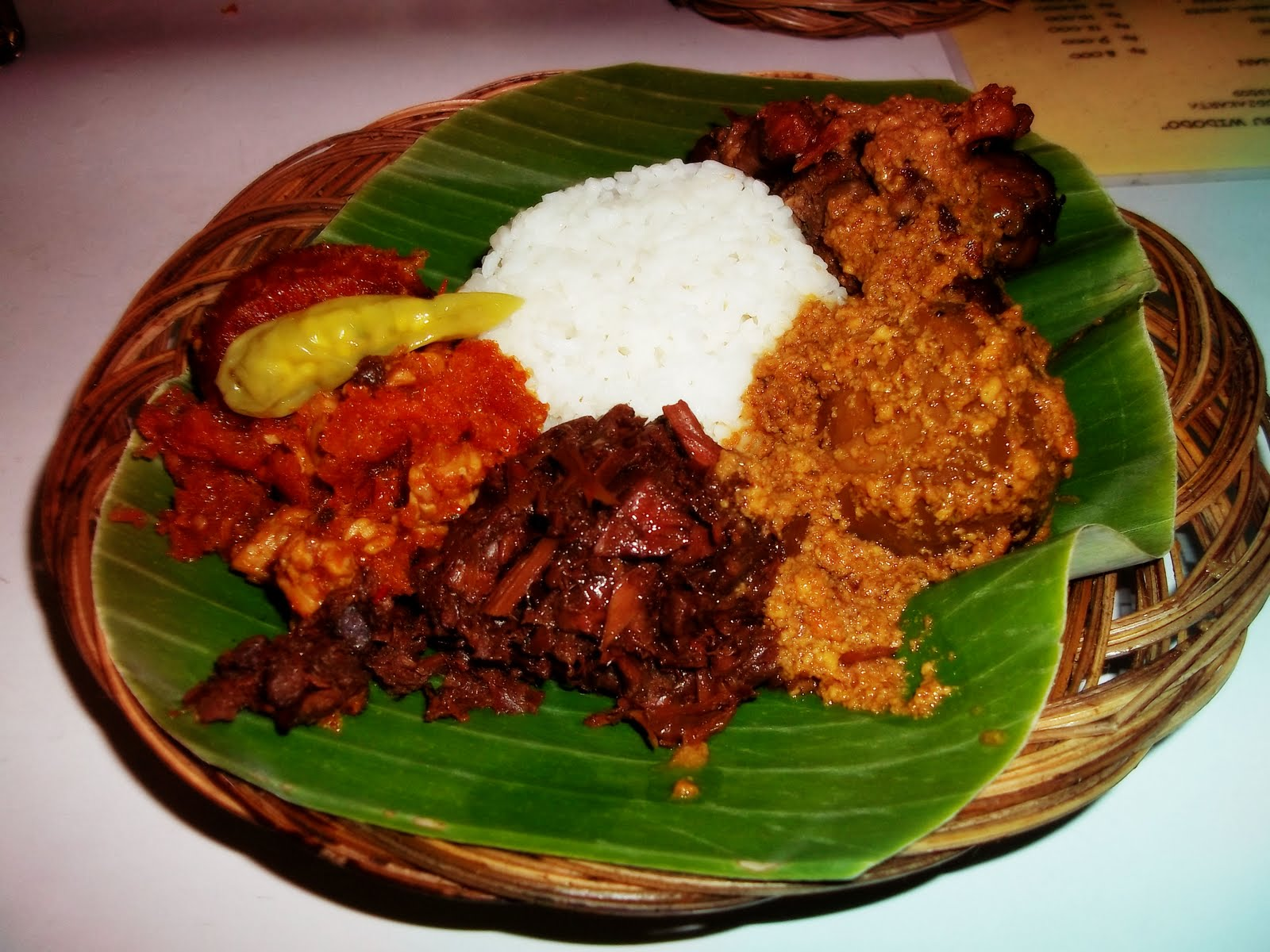 Resep Makanan Indonesia Gudeg Yogyakarta Indonesia