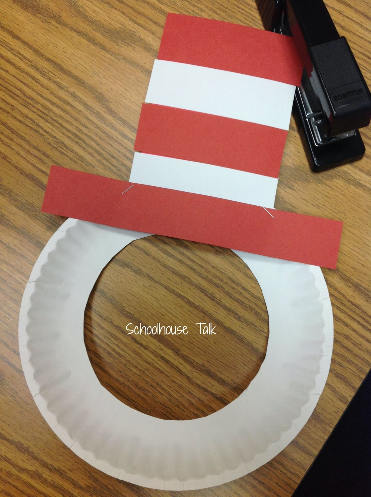 Cat in the Hat Mask Craftivity & Schoolhouse Talk!: Cat in the Hat Mask Craftivity