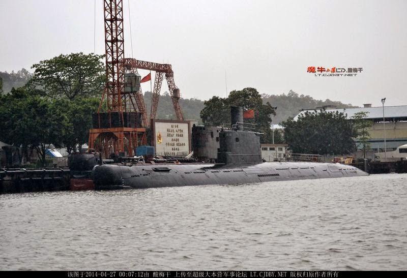 Type 035G Ming Class Submarine for Bangladesh Navy