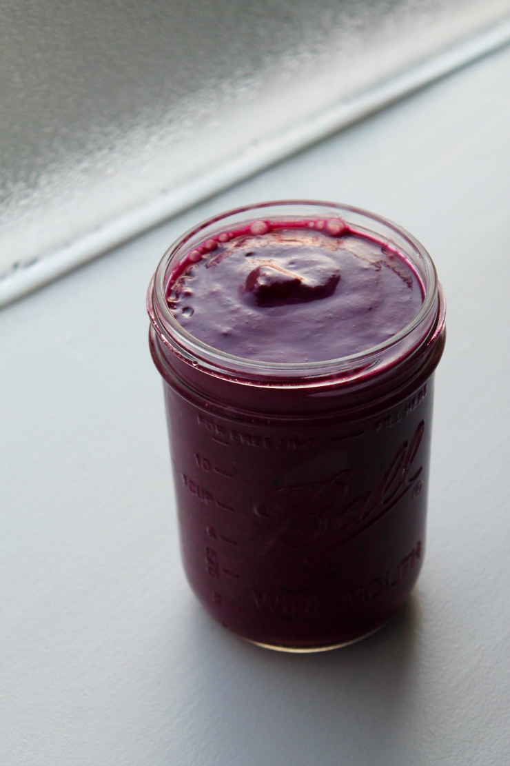 Berries, Beets and Silken Tofu Vegan Smoothie