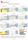 Calendario escolar 2018-9