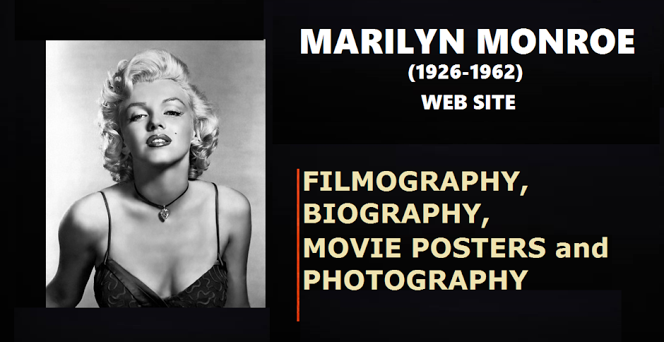 MARILYN MONROE (1926-1962): Filmography and Movie Posters