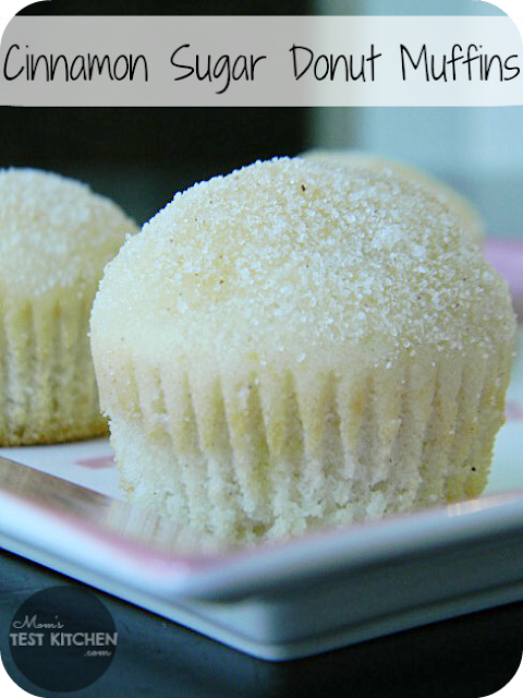 Cinnamon Sugar Donut Muffins | www.momstestkitchen.com