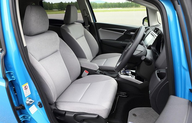Interior do novo Honda Fit 2014