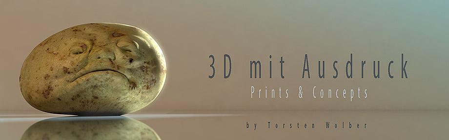 3D mit Ausdruck