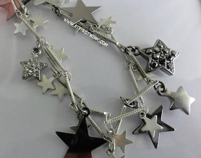 bracelet with star charms