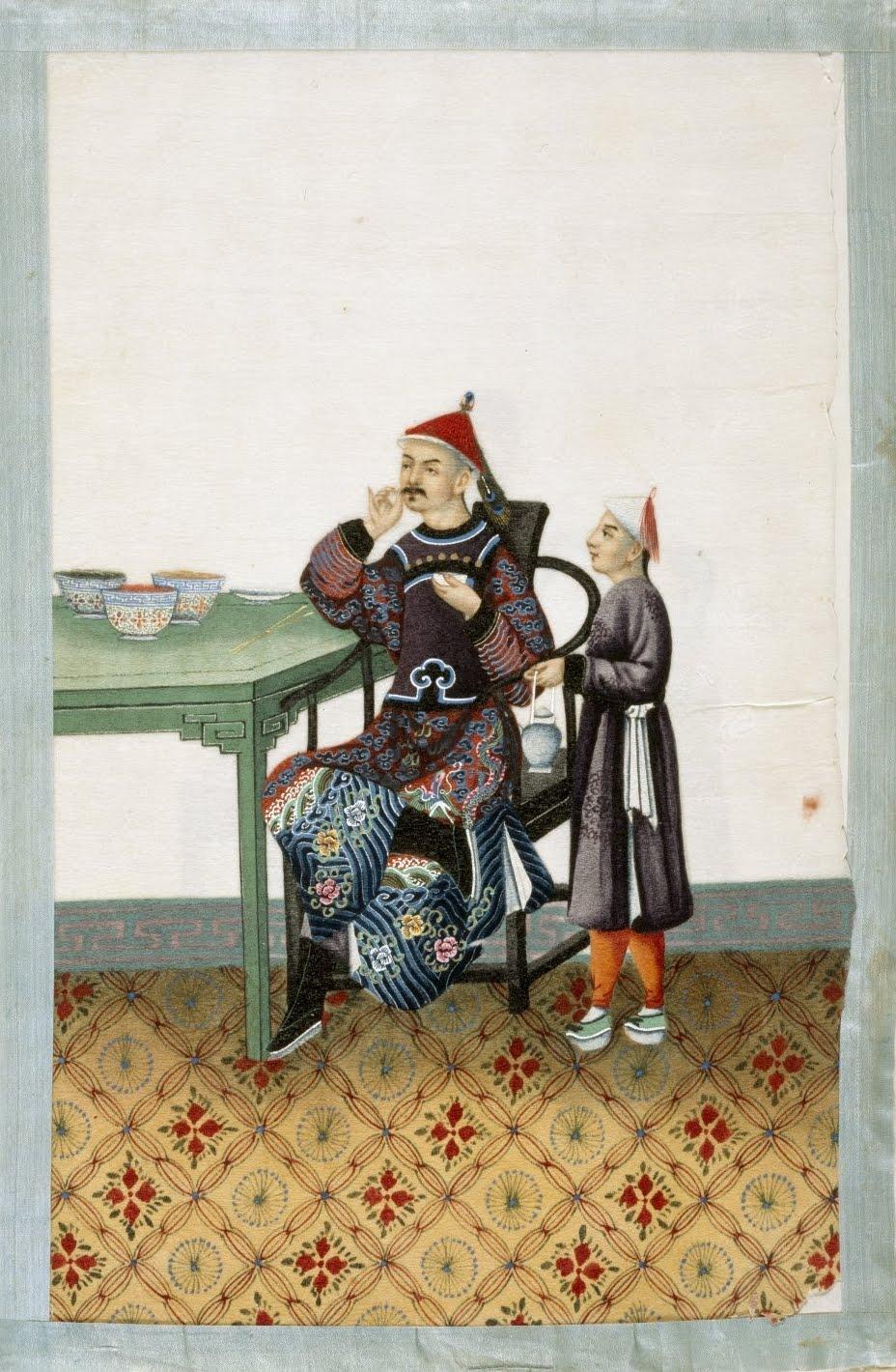 chinese nobility scene