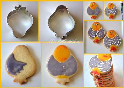 food gifts: bird cookies