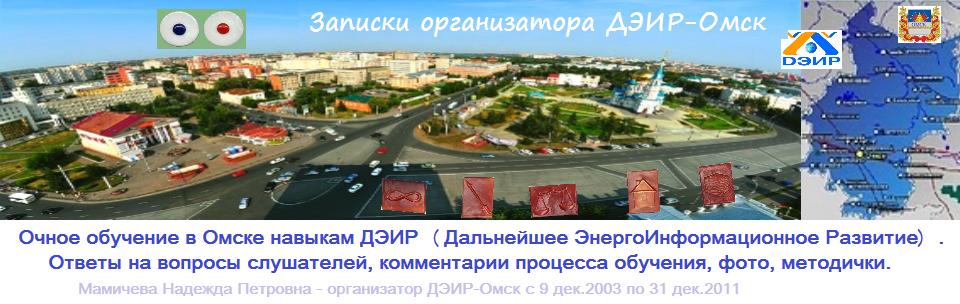 Записки  организатора  ДЭИР-Омск