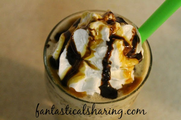 Snickers Frappuccino: A Starbucks Secret Menu Copycat #recipe #copycat #Starbucks