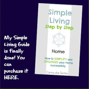 Check out my first simple living guide in E Book form.