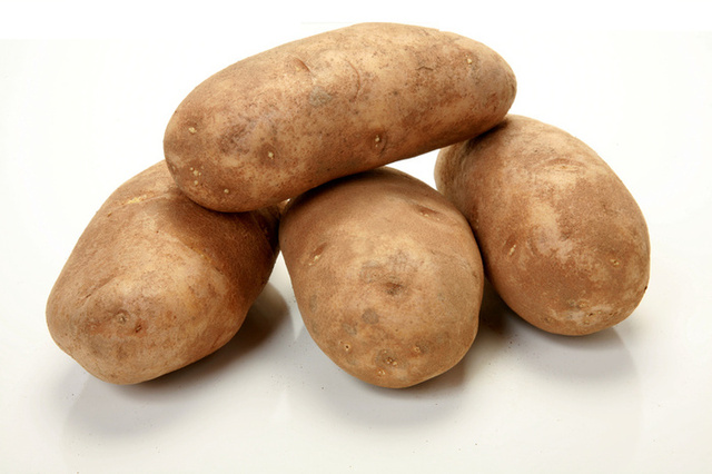 Different Colors of Potatoes - Brown Potatoes