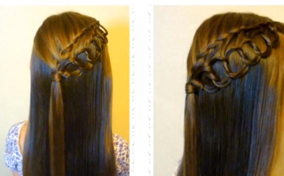 30 tendencias de peinados sencillos para cuando tienes  - Peinados Con Trenzas Sencillos