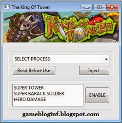 The King of Tower Hack Update 2015