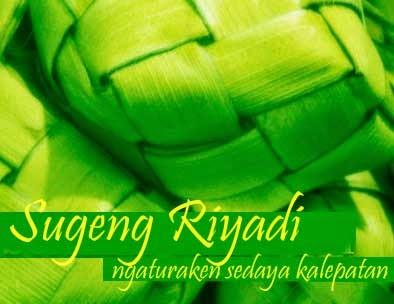 Ucapan Selamat Hari Raya Idul Fitri Bahasa Jawa