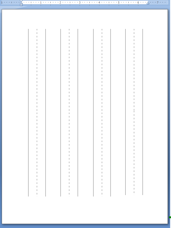 Wildflowers In The Country: Lined Paper For Kindergarten