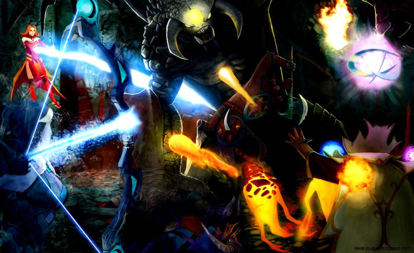 Hero Dota 2 Game 3D Wallpaper Wallpapers