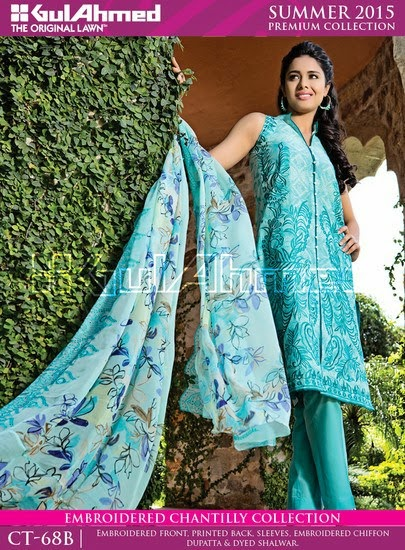 Chantilly De Chiffon Summer Collection by Gul Ahmed 3