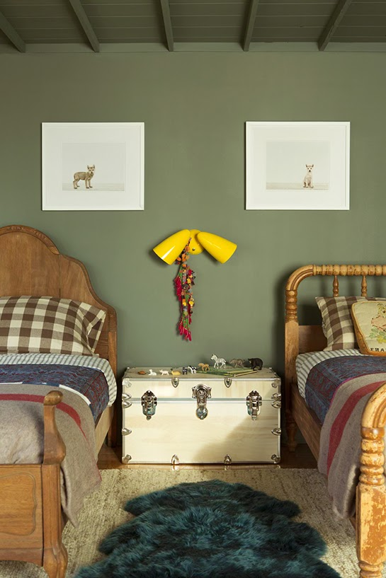 Une chambre d\u0027enfant en vert kaki blogs de blogueurs de mode beauté de